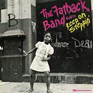 Vinyle the fatback Band Keep on steppin