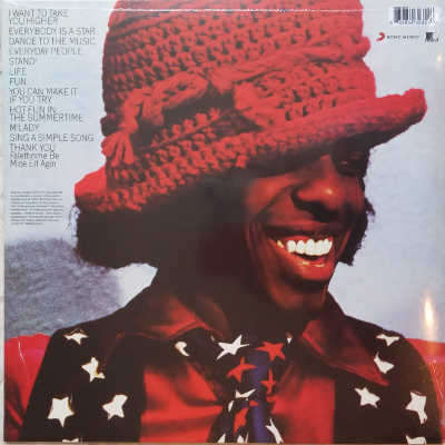 Sly and the family Stone greatest hits vinyle