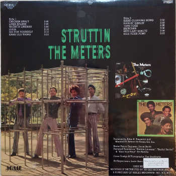 Vinyle The Meters Struttin'
